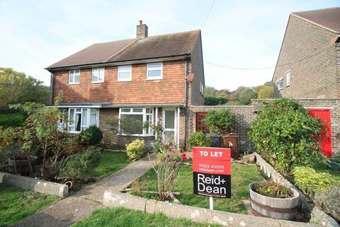 2 bedroom semi-detached house to rent - The Fridays, East Dean, Eastbourne
