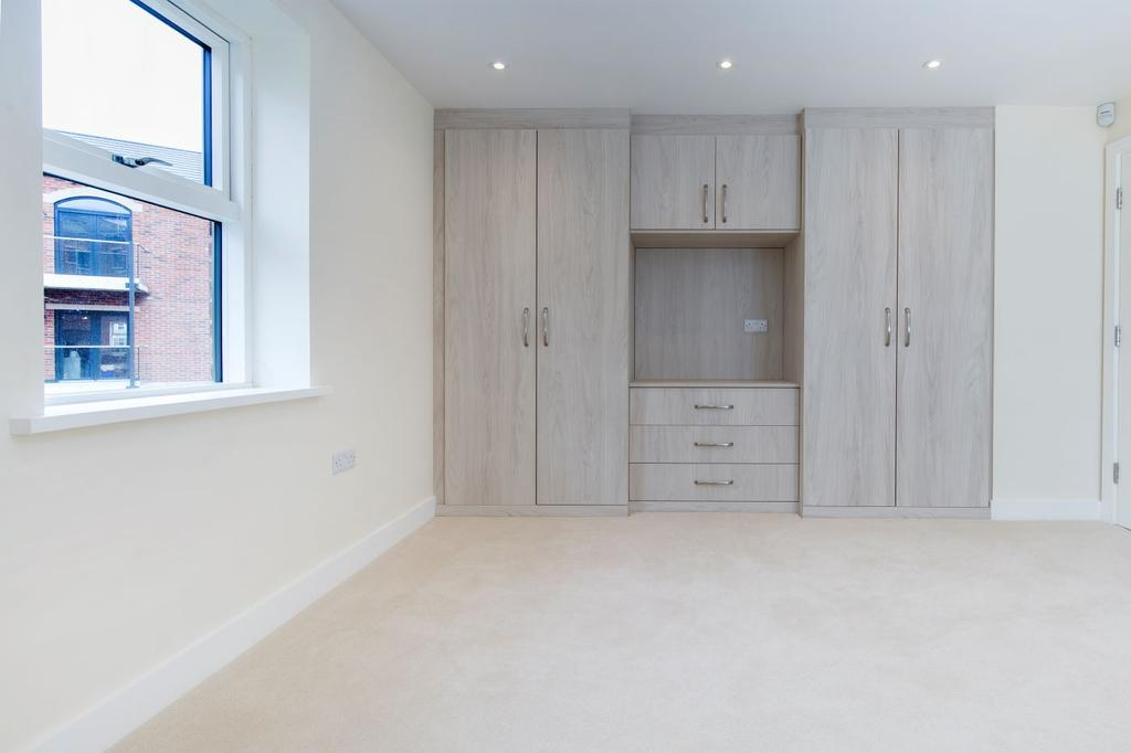 Bedrooms complete with handmade fitted wardrobes