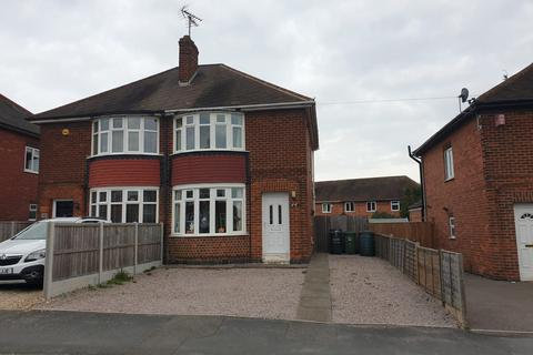 2 bedroom semi-detached house to rent - King George Avenue, Loughborough, LE11