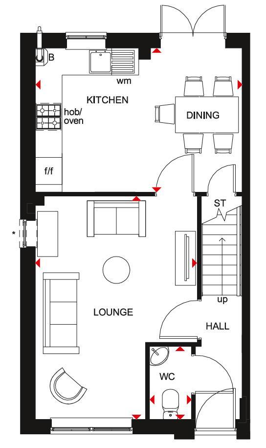 Floorplan 2 of 2: Maidstone GF Plan
