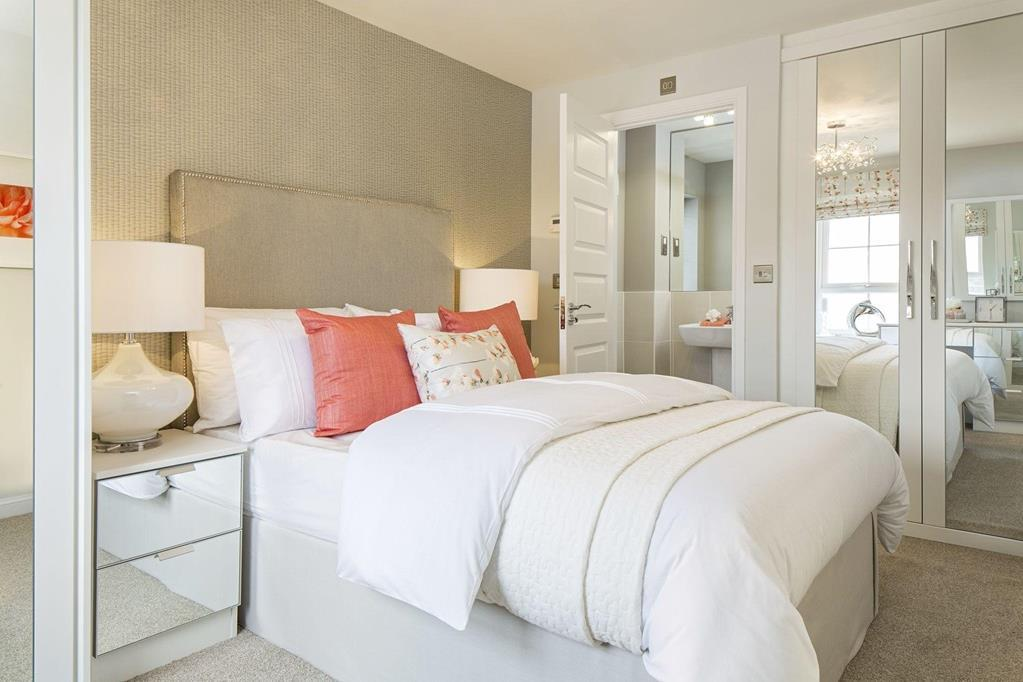 Typical Finchley master bedroom