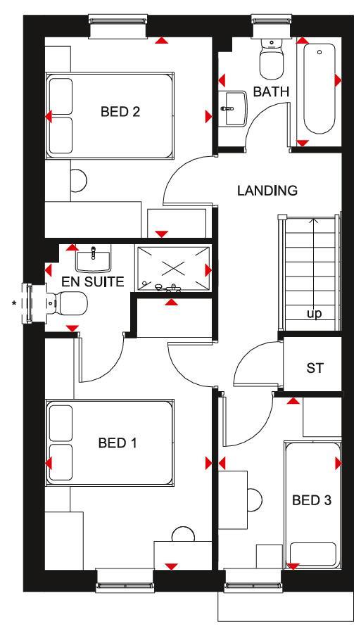 Floorplan 2 of 2: Maidstone FF Plan
