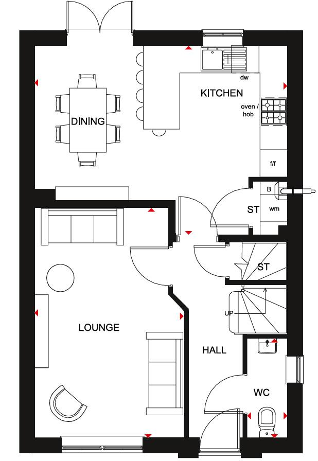 Floorplan 1 of 2: Chester GF Plan
