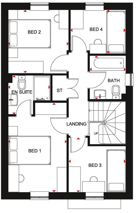 Floorplan 2 of 2: Chester FF Plan