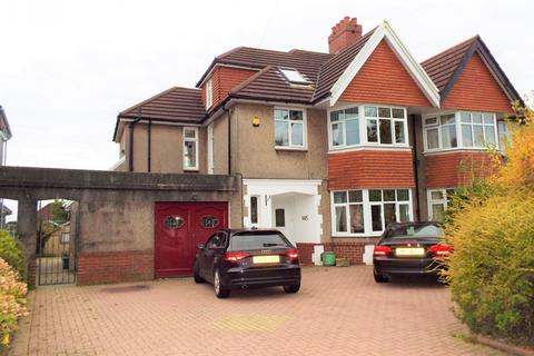 5 bedroom semi-detached house for sale - 145 Gower Road, Sketty, Swansea, SA2 9HT