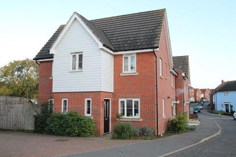 3 bedroom end of terrace house for sale - Buzzard Rise, Stowmarket, IP14