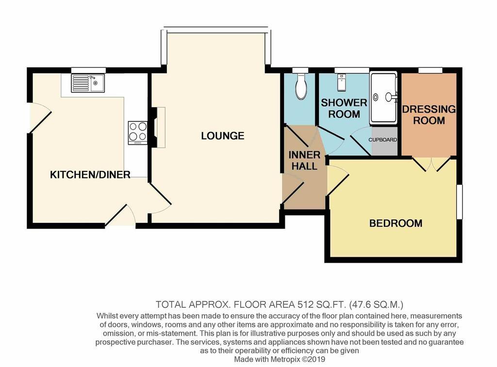 Floorplan: 1a Kings Court196 Clifton Drive South FY81 HQ print.JPG