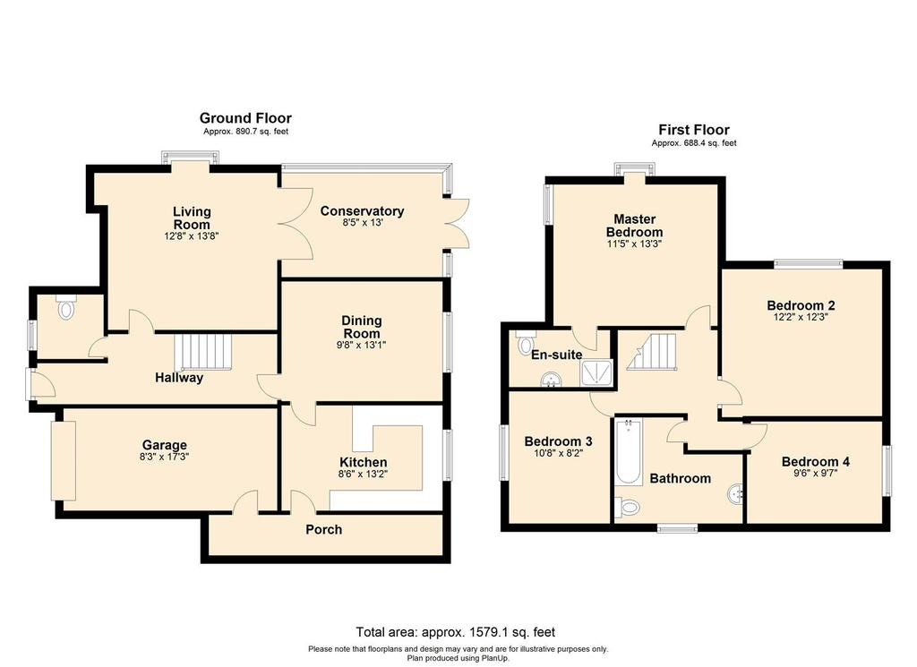 Floorplan: Sea View Road Cliffsend