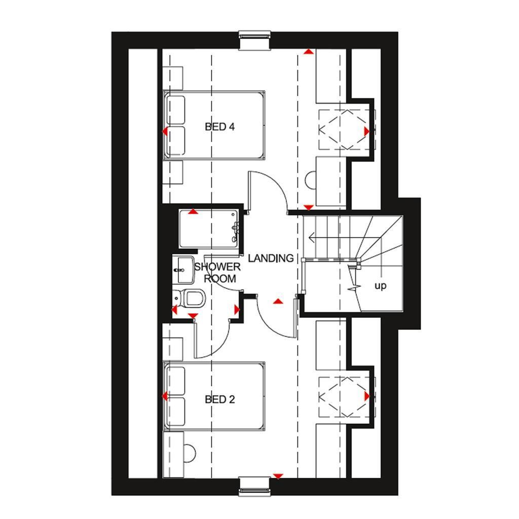 Floorplan 3 of 3: SF Hesketh floor plan