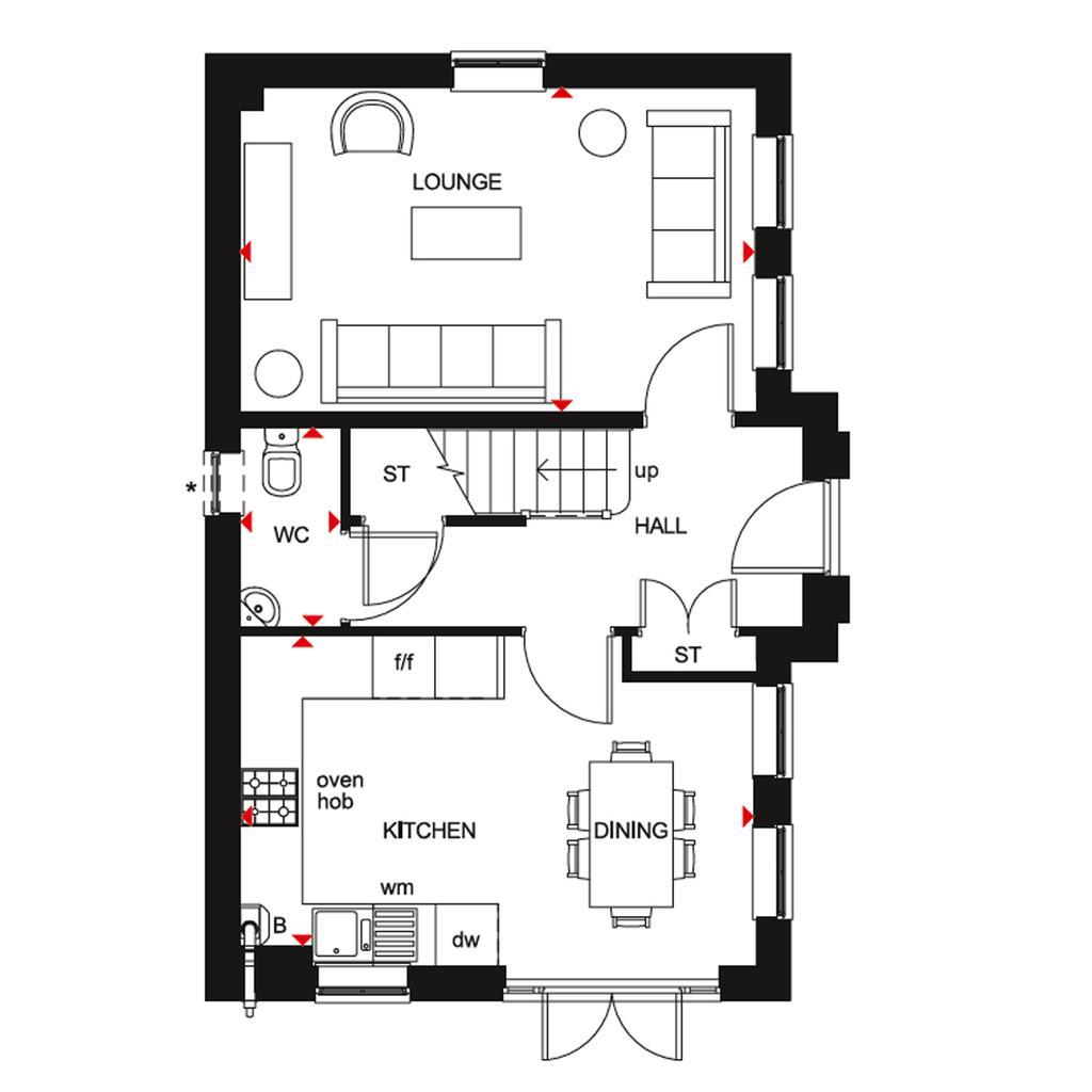 Floorplan 1 of 3: GF Hesketh floor plan