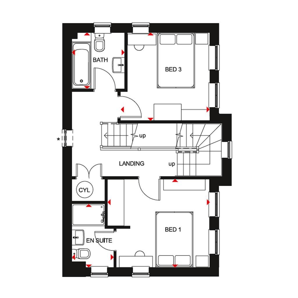 Floorplan 2 of 3: FF Hesketh floorplan