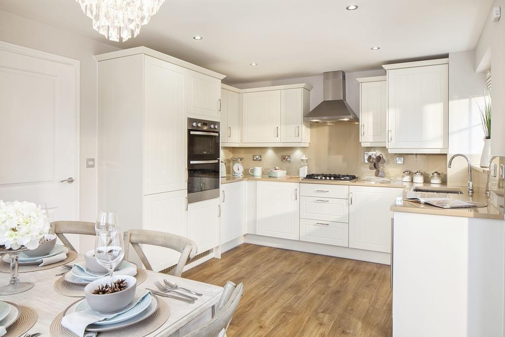 Typical Ennerdale kitchen and dining area