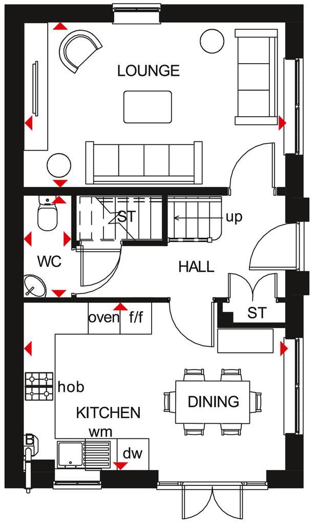 Floorplan 1 of 2: Ennerdale First Floor Plan