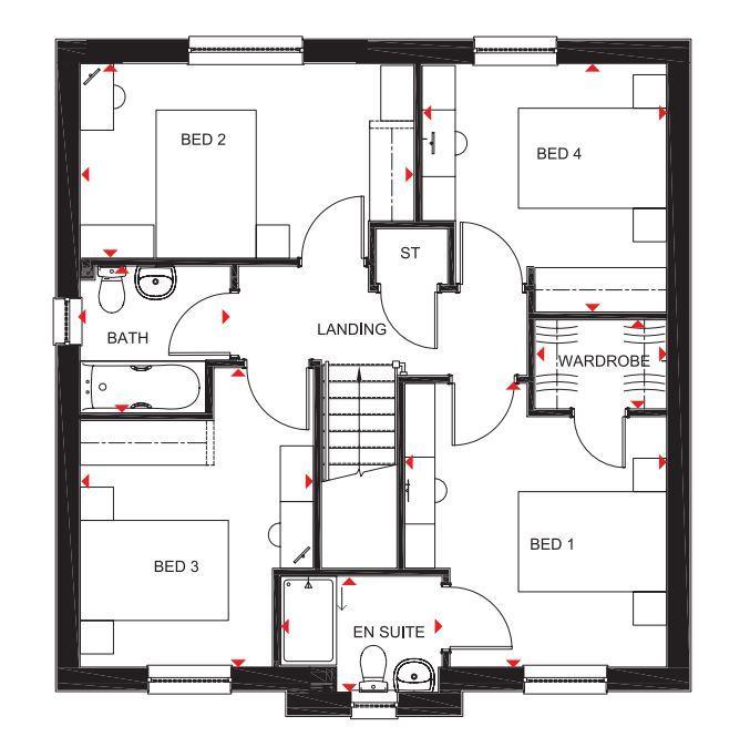 Floorplan 2 of 2: The Corgarff