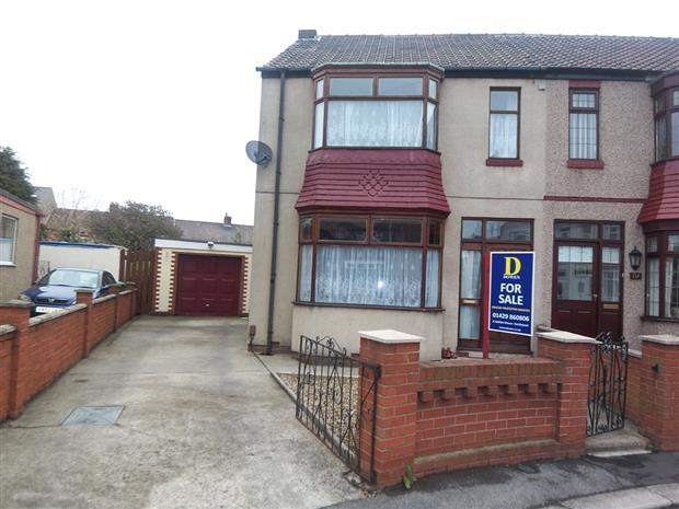 3 Bedrooms Semi Detached House for sale in ST MARGARETS GROVE, FOGGY FURZE, HARTLEPOOL