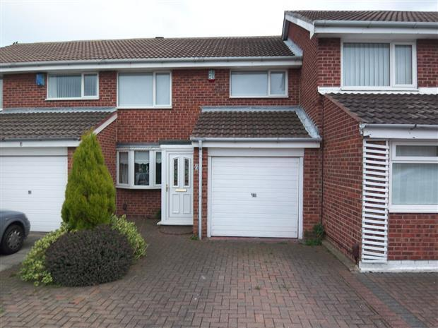 3 Bedrooms Terraced House for sale in AMBERWOOD CLOSE, CLAVERING, HARTLEPOOL