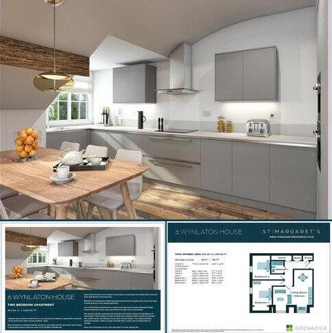 2 bedroom flat for sale - Wynlaton House, St Margarets Residences, 147 Magdalen Road, Exeter, EX2