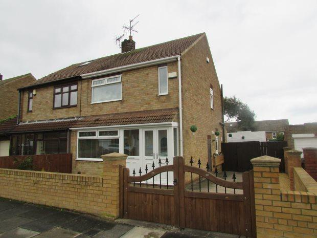 2 Bedrooms Semi Detached House for sale in STUDLAND DRIVE, HART STATION, HARTLEPOOL
