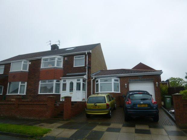 3 Bedrooms Semi Detached House for sale in BOURNEMOUTH DRIVE, HART STATION, HARTLEPOOL