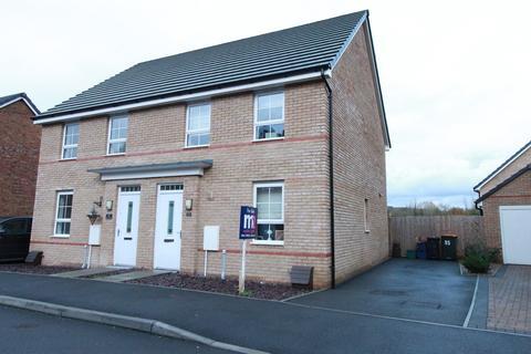 3 bedroom semi-detached house for sale - Heol Senni, Bettws, Newport, NP20