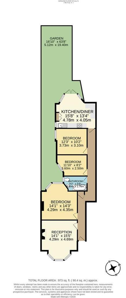 Floorplan: 15 Stonard Road Palmers Green N13 High1.jpg