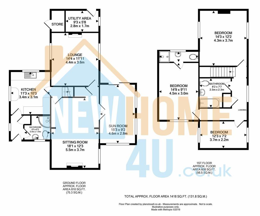 Floorplan 1 of 2: 5 Oak Tree Close FP 2.jpg