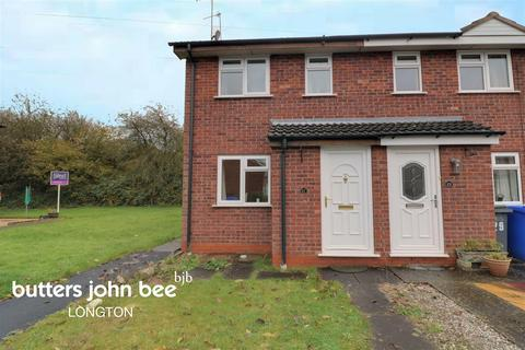 2 bedroom end of terrace house for sale - Kersbrook Close, Trentham, ST4 8XL