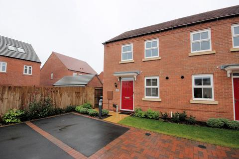 3 bedroom semi-detached house to rent - Bobbin Drive, Loughborough