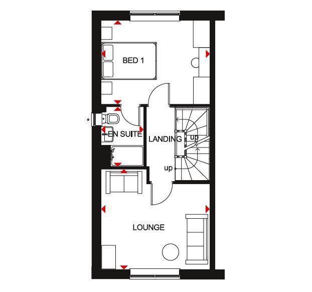 Floorplan 1 of 3: Kingsville FF