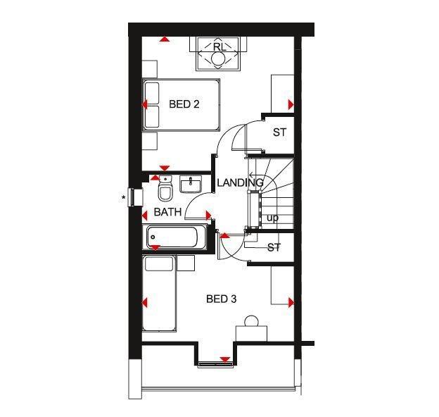 Floorplan 2 of 3: Kingsville sf