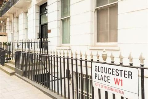 Studio to rent - Gloucester Place, Baker Street W1U