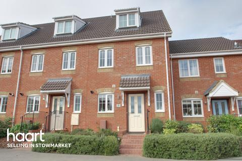 3 bedroom townhouse for sale - Chaucer Close, Stowmarket