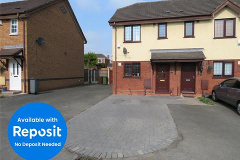 2 bedroom end of terrace house to rent - Norcombe Grove, Monkspath, Solihull, West Midlands, B90
