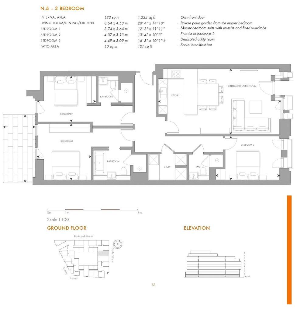 Floorplan: Lincoln Square, Wc2