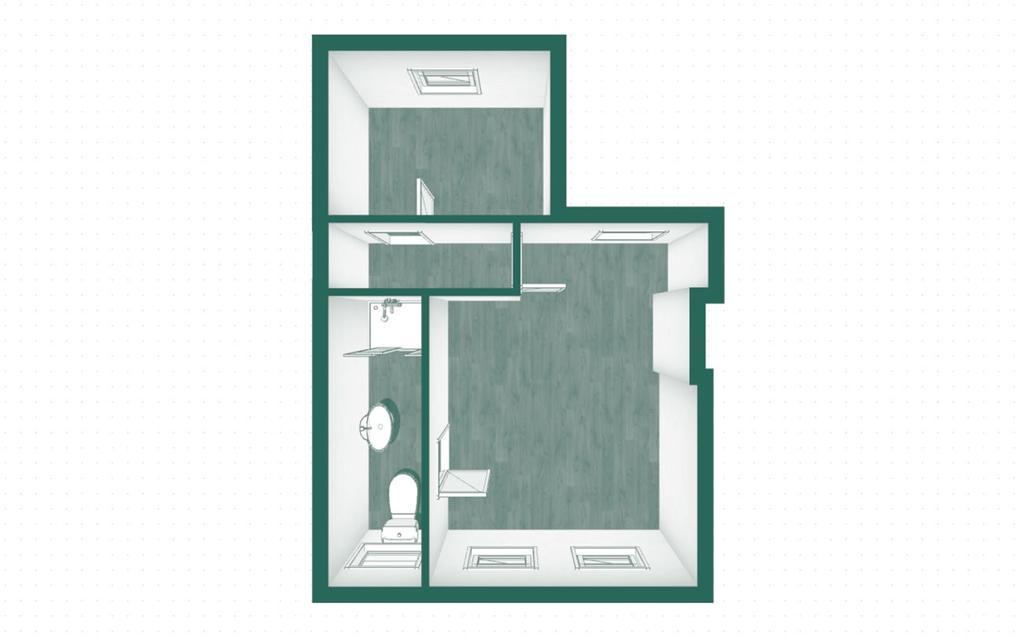Floorplan 3 of 3: 3 D Top Floor