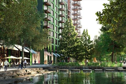 1 bedroom flat for sale - Embassy Gardens, Ponton Road, Nine Elms, Vauxhall, London, SW8