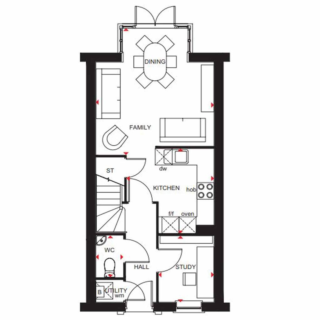 Floorplan 1 of 3: Greenwood GF OG