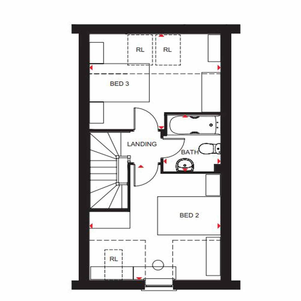 Floorplan 3 of 3: Greenwood SF OG