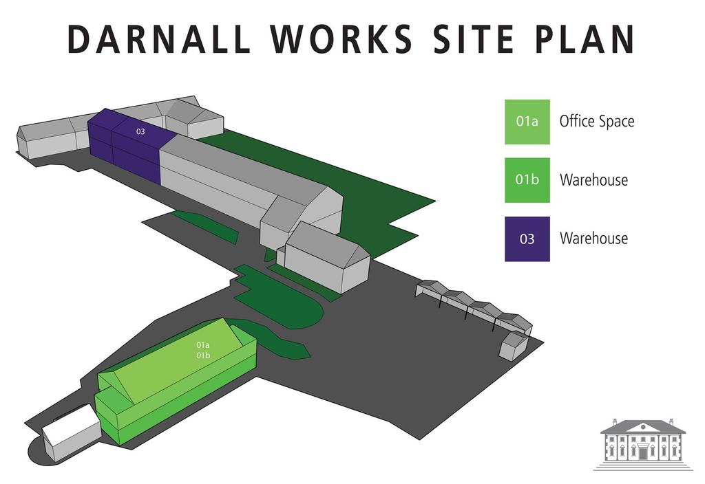 Darnall Works Site Plan
