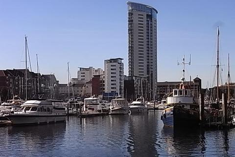 1 bedroom apartment to rent - Meridian Tower, Maritime Quarter, Swansea