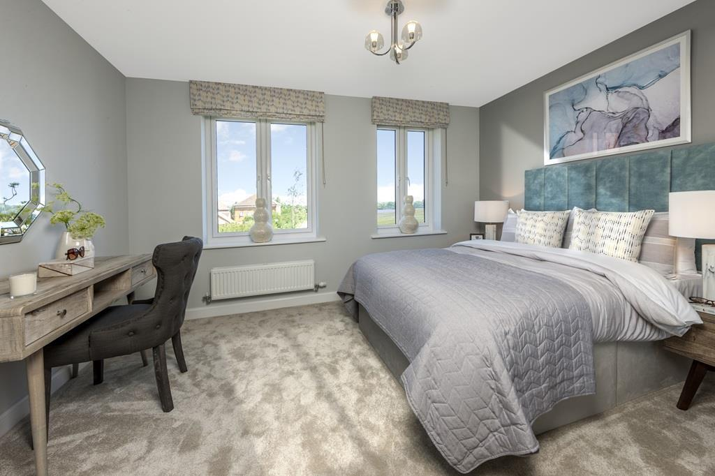Bay bedroom
