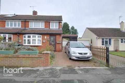 3 bedroom semi-detached house for sale - Ledwell Road, Caddington