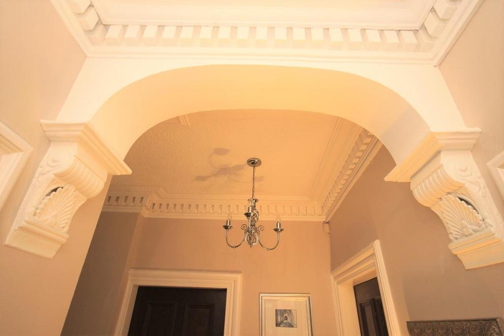 Feature Hallway Ceiling