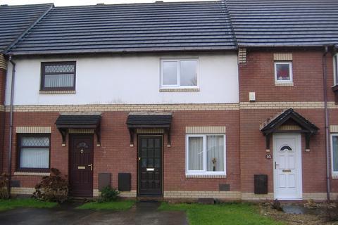 2 bedroom terraced house to rent - St. Davids Close, Brackla, Bridgend, Bridgend. CF31 2BN