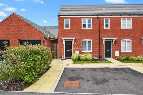 2 bedroom end of terrace house for sale - Ruskin Close, Botley