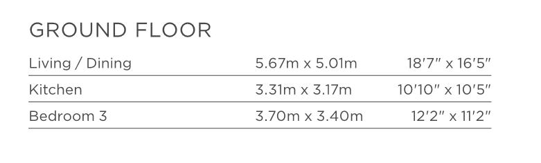 Floorplan 2 of 4: Ground Floor Dimensions