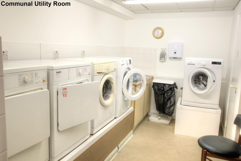 Communal Laundry Room.