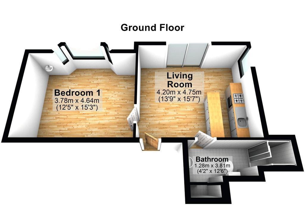 Floorplan 2 of 2: Floorplan Two