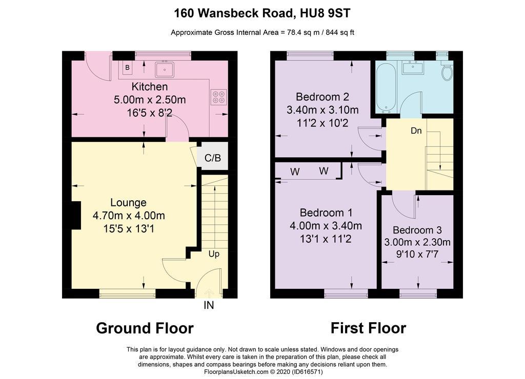 Floorplan: Wansbeck Road  ...