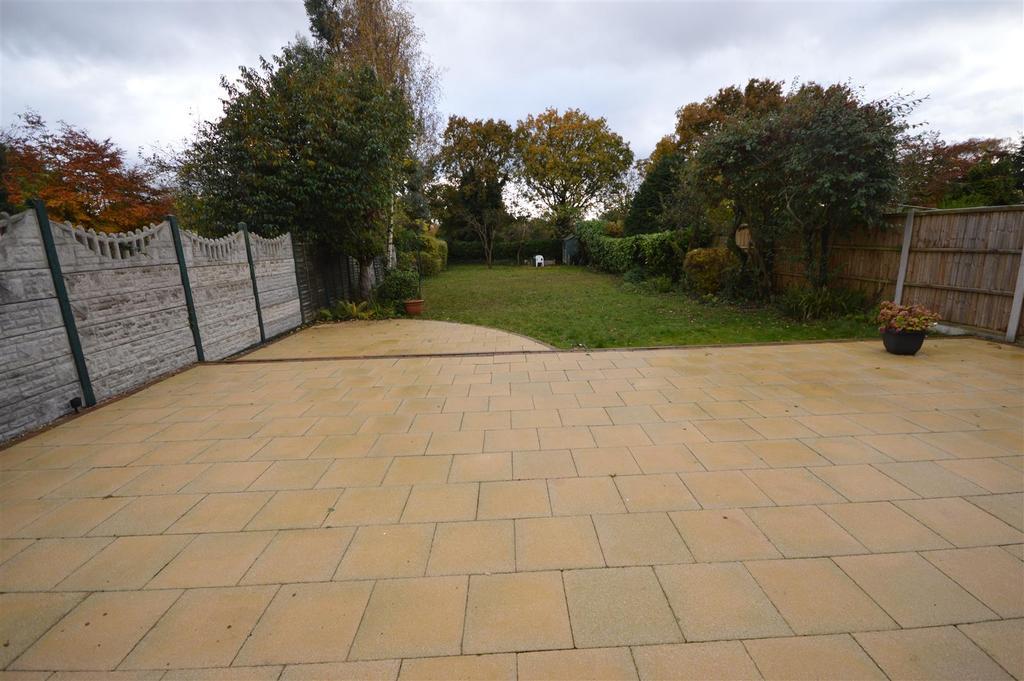 Well Established Rear Garden